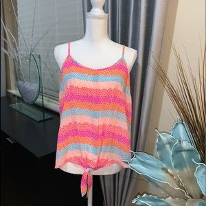 Candie's new summer colorful top